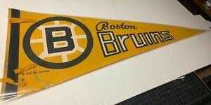 Amazing!!! Vintage 1970 Boston Bruins Pennant!!!
