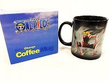 Anime One Piece Luffy Heat Reactive Color Change Coffee Mug Cup Gift Limited!USA