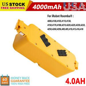 4000mAh Vacuum Battery For iRobot Roomba APC 400 4000 4905 4210 Discovery Series