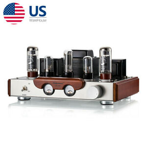 EL34 Vacuum Tube Stereo Audio Power Amplifier HiFi Class A Single-Ended Amp 8W×2