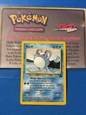 Pokemon Card Marill 29 Black Star Promo