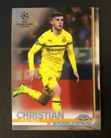 CHRISTIAN PULISIC Topps Chrome18-19 Champions League #23 BVB SP INVEST! QTY