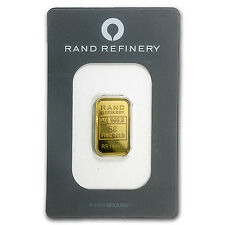 5 gram Gold Bar - Rand Elephant Mirage (In Assay) - SKU #91451