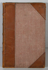 1882 Antique French Book Alphone Lamartine Le Tailleur de Pierres Stonecutter