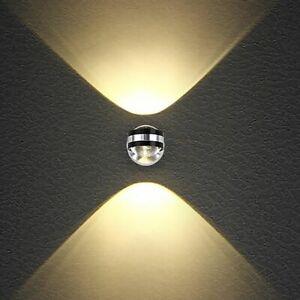 LED Indoor Crystal Wall Lamp Bedroom Bedside Corridor Living Room KTV Lights