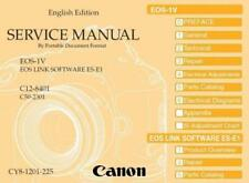 CANON EOS 1V (1 V) SERVICE & REPAIR MANUAL