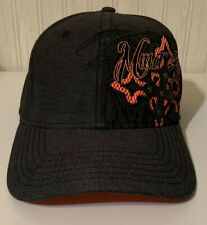 MMA Elite One Size Fits Most Charcoal and Orange Fitted Cap
