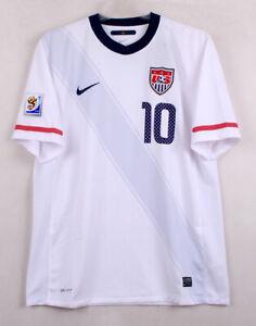 2010-11 USA Home No.10 DONOVAN S/S 2010WorldCup America sz L Jersey Shirt