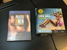 Pilates For Men 10-20-30 3 Disc Set! Plus Fitness Tools Included