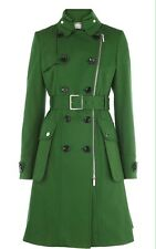 Emerald Green Military Coat From Karen Millen UK 10