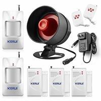 KERUI Standalone Home Office & Shop Security Alarm System Kit, Wireless Loud