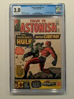 TALES TO ASTONISH #59 (Sept 1964, Marvel) CGC 3.0 OFF-WHITE Pages