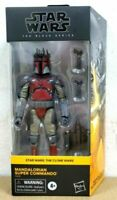 SHIPS TODAY Hasbro Star Wars Black Series Mandalorian Super Commando CLONE WARS