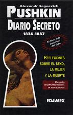 Secret Journal 1836-1837 by A.S. Pushkin- in Spanish (Mexico) Diario Secreto