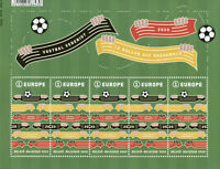 Belgium Sports Stamps 2020 MNH Football Connects Soccer 5v M/S