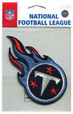 """TENNESSEE TITANS OFFICIAL NFL FOOTBALL 4"""" STICKER PATCH"""
