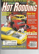 Popular Hot Rodding Magazine July 1997 Performance Carb For the 21st Century