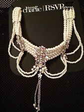 BEAUTIFUL PEARL NECKLACE! MUST SEE! CHARMING CHARLIE/ RSVP! NEW!