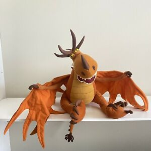 How to Train Your Dragon Monstrous Nightmare Jumbo Plush Hookfang Pillowtime Pal