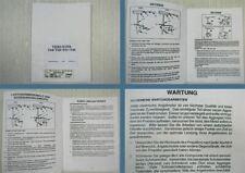 Mariner Mercury Thruster T24 T28 T33 T45 Betriebsanleitung Wartung 1993