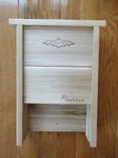 """Audubon Cedar Bat House Shelter 16"""" L X 10.25"""" W X 4.25"""" D NEW"""