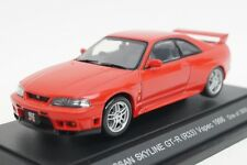 1:43 EBBRO 43585 Nissan Skyline GT-R R33 V Spec 1996 Red