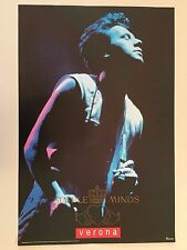 SIMPLE MINDS,VERONA, AUTHENTIC 1990  POSTER