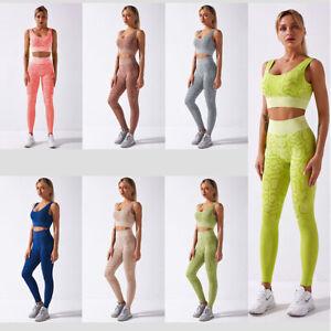 Womens Cobra Seamless Yoga Set Fitness Sports Suits Gym Clothing Coolmax Empire