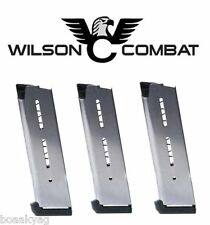 Wilson Combat  47D 45 ACP Full-Size  Magazine 8-Round pack of three