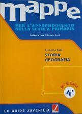 MAPPE classe 4^ STORIA-GEOGRAFIA per l'apprendimento nella scuola primaria