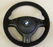 BMW E46 M Sport / M3  - steering wheel genuine alcantara - tri colour stitching
