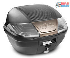 Kappa K400NT 40L Motorcycle  Scooter Top Box Monolock & Universal Mounting plate