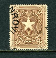 LIBERIA 48, 1892-96 $2 STAR, USED  (LIB072)