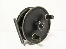 """Vintage JW Young Alloy 4"""" Freedex Centrepin Fishing Reel"""