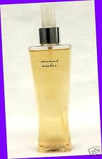 1 Bath & Body Works SENSUAL AMBER Fragrance Mist Body Splash Spray BERRIES LOTUS