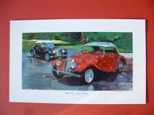 MG TF  British sports car Art Print