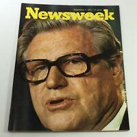 VTG Newsweek Magazine September 2 1974 - Nelson Rockefeller / Newsstand