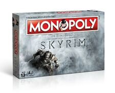 MONOPOLY - SKYRIM - THE ELDER SCROLLS - Winning Moves 44741 - NEU