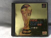 Used FIFA World Cup '98 - PlayStation PS1 Complete Japan Import Fair Condition