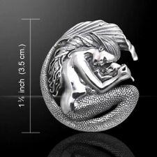 Sterling Silver MOTHERHOOD Mermaid & Baby Pendant by Selina Fenech. Peter Stone