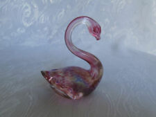 Pink Glass Art Glassware