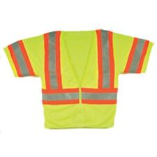 Lime Safety Vest, DIAMOND RUBBER BRAND. LARGE. PRICE REDUCED!!