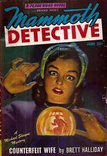 MAMMOTH DETECTIVE. June, 1947. Vol. 6, No. 6.