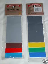 Vinyl Repair Kit Tents Rainwear Floats & More Easy New With Fast Free Shipping!!