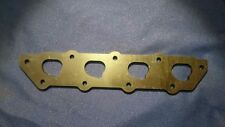 Ford Zetec HEAVY DUTY Exhaust Manifold Flange Plate MILD STEEL