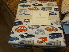 POTTERY BARN KIDS CARS SHEET SET IN TWIN SIZE ADORABLE FOR THE CAR LOVER