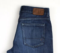 Tommy Hilfiger Hommes Merceir Jeans Jambe Droite Taille W31 L30 AOZ974