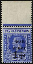 Single George V (1910-1936) Caymanian Stamps