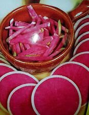 Rettich - bunte Mischung,schwarz,pink, weiß  ganzjährig, Topf, Kübel, Garten