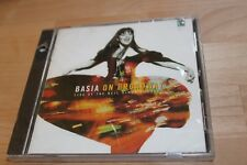 BRAND NEW SEALED PROMO Basia on Broadway by Basia (CD, Oct-1995, Epic)